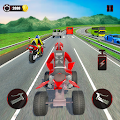 ATV Traffic Rider 2019: Quad Bike & Kart APK