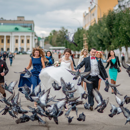 Wedding photographer Andrey Khitrov (Goodluckxx4). Photo of 24.09.2016