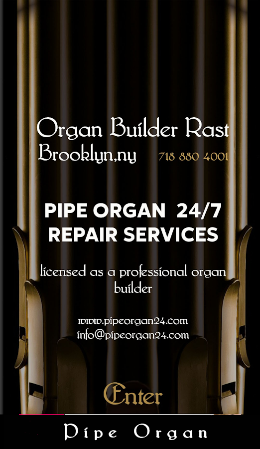 Pipe Organ 24 - Repair Services- screenshot