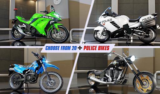 Police Moto Bike Highway Rider Traffic Racing Game modavailable screenshots 18