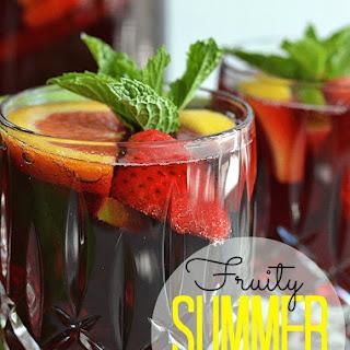 Fruity Summer Sangria.