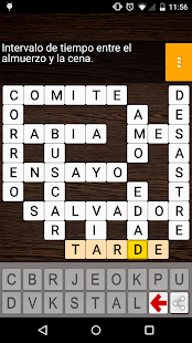 CrossWords in Spanish - náhled
