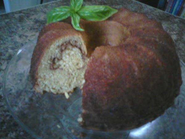 Saucy Apple Swirl Bundt Cake Recipe