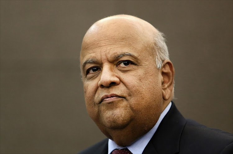 Pravin Gordhan. Picture: ALON SKUY/THE TIMES