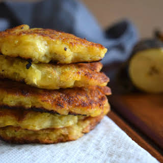 Crazy Easy Pan-Fried Plantain Patties.