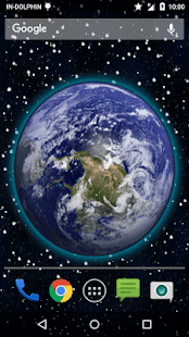 3D Moving Earth Live Wallpaper 4