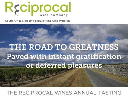 Reciprocal Annual Tasting | Cape Town : Wine Essentials - Pty Ltd