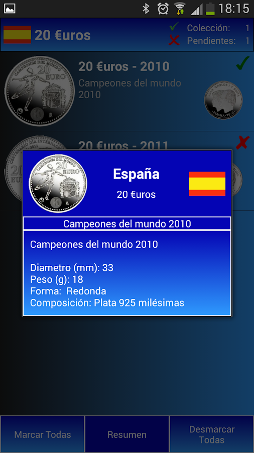 30 Euros - España- screenshot