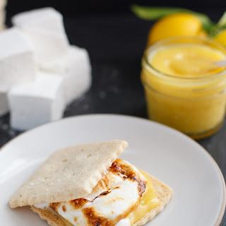 Lemon Meringue S'mores With Shortbread Cookies