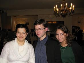 Photo: Anna Shakina, Alexey Grigoriev and Yaroslava Serdobolskaya