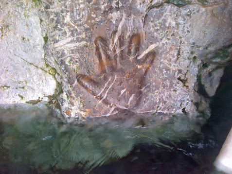 The Hand Imprint of the Guru