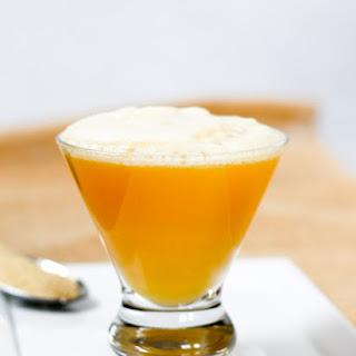 Lemon Ginger Bourbon Fizz.