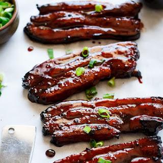 Sticky Chinese BBQ Pork Belly Ribs (Char Siu) Recipe