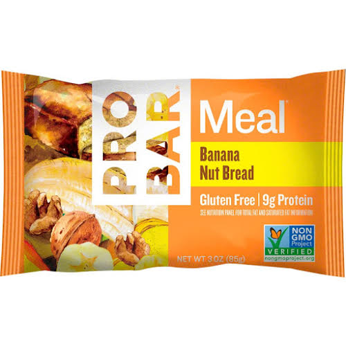Probar Meal Bar Banana Nut Bread, Box of 12