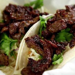 Korean Bulgogi Taco