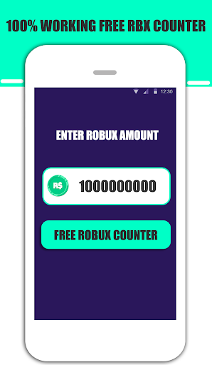 Free Robux Instant Counter For Roblox 2019 hack tool