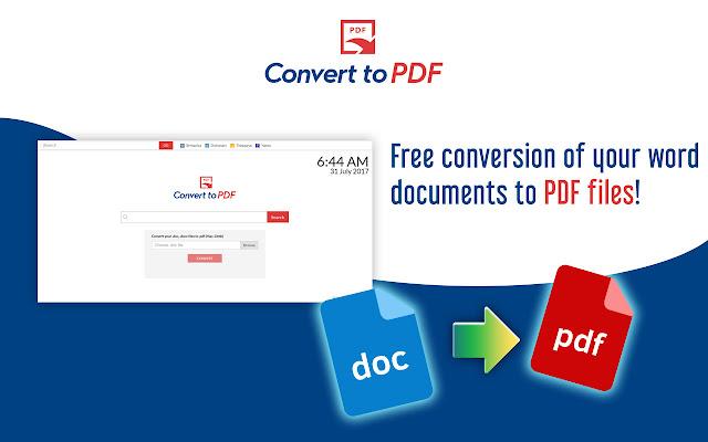 Convert to PDF New Tab