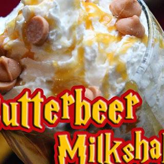 Butterbeer Milkshake.