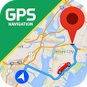 GPS Navigation - Route Finder, Direction, Road Map icon