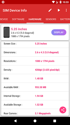 SIM Device Info 1.0.9 screenshots 5