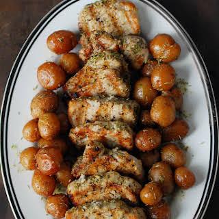 Garlic Rosemary Pork Tenderloin.
