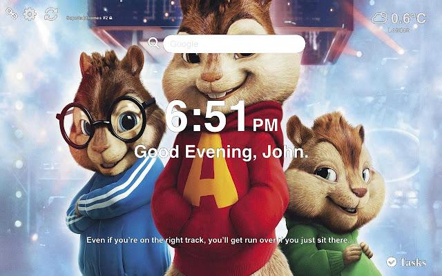 Alvin Wallpaper HD Tab Theme