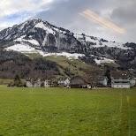 Train to Engelberg in Engelberg, Obwalden, Switzerland