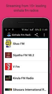 Sinhala Radio - náhled