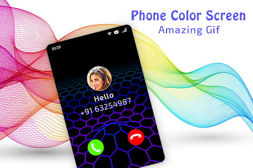 Color Phone Call Flash Screen screenshots 4