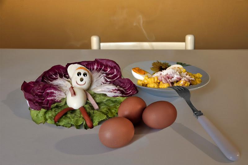 Protagoniste le uova di Pensatore