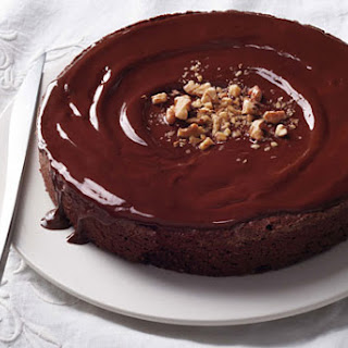 Flourless Chocolate-Walnut Torte
