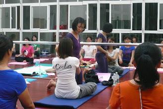 Photo: 20110916身心靈健康瑜伽