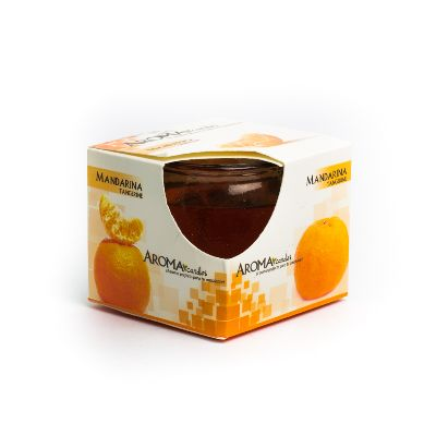 vela gel aroma mandarina