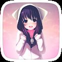 Anime Girl Kawaii icon