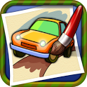 Coloring Book Car-draw game icon