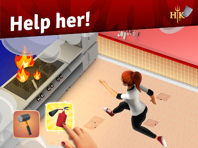 Hell's Kitchen: Match & Design MOD APK (Unlimited Moves) 7