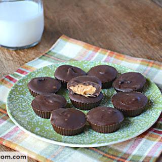 Homemade Sugar Free Peanut Butter Cups