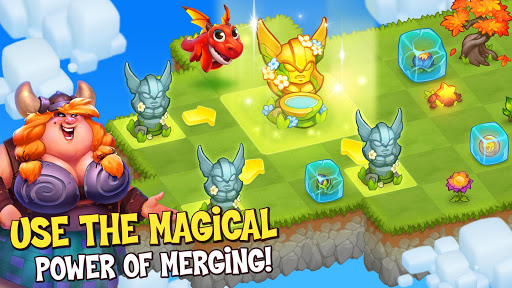 Merge World Above: Merge games Puzzle Dragon 4.0.5615 screenshots 3