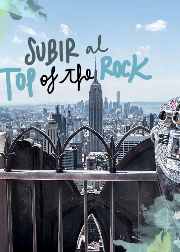 subir al top of the rock