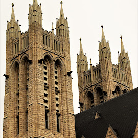 Gothic Revival, Guelph, Ontario by Carl VanderWouden - Buildings & Architecture Architectural Detail
