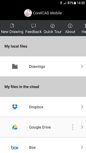 CorelCAD Mobile 18.0.194 screenshots 5