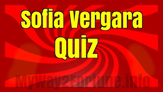 Download Sophia Vergara Knowledge Quiz For PC Windows and Mac apk screenshot 2