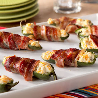 Bacon-Wrapped Jalapeño Poppers.