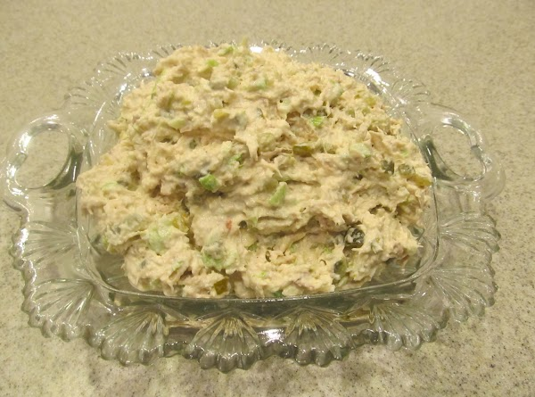 Sweet Down Home Chicken Salad Recipe