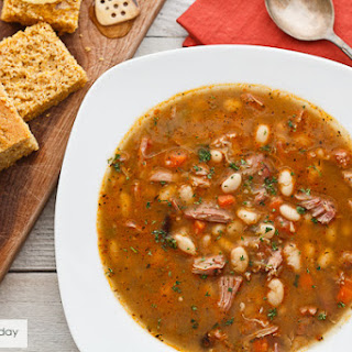 Smoked Turkey & Bean Soup