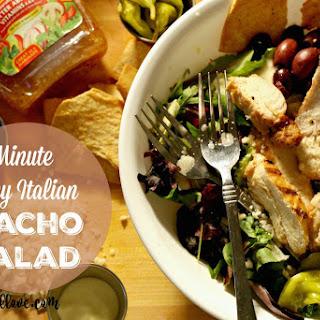 10 Minute Zany Italian Nacho Salad