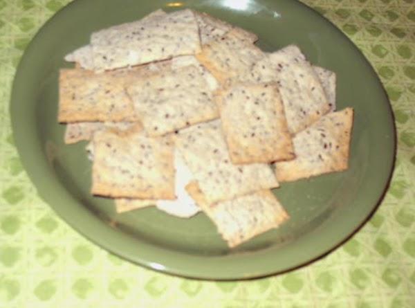 Flax Seed Crackers Recipe