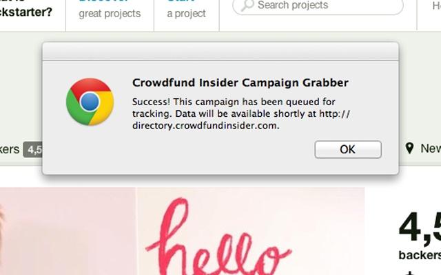 Crowdfund Insider Campaign Bot