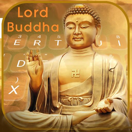 Lord Buddha Keyboard Theme