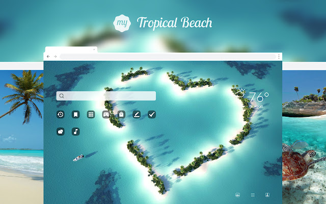 My Tropical Beach - Exotic Island Wallpapers